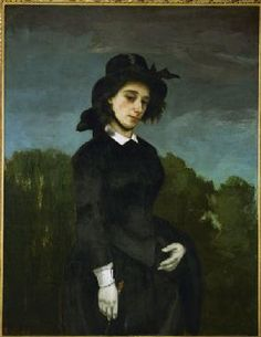 Gustave Courbet - Louise Colet , Courbet