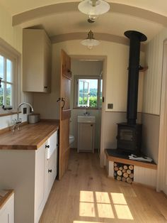 Home Security – …stay secured. Shed Interior, Country House Interior, Kitchen Interior, Tiny Apartment Living, Small House Living, Hut Images, Horse Box Conversion, Arched Cabin, Cottage Interiors