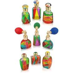 Murano Glass Perfume Bottles by Eva