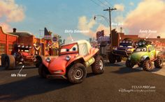 Our Exclusive Review of Radiator Springs 500½ - The Characters, the Die Cast Cars & The Details  http://www.pixarpost.com/2014/05/our-exclusive-review-of-radiator.html