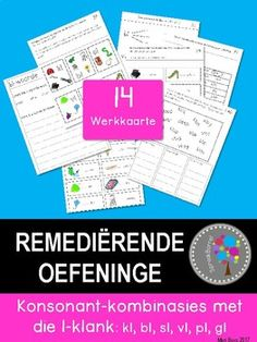 Kindergarten Worksheets, Grade 3, Afrikaans, Montessori, Homeschooling, Language, Teacher, Education, Kids