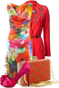 """""""flower dress"""" by livewithgrace on Polyvore"""
