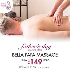 "To celebrate Father's Day we have some gorgeous Offers to share with you. Treat the ""Best Dad Ever""  to this sumptuous massage and he will enjoy a  Full Body Aromatherapy Massage – 75 min This ritual is an ideal way for all Papas to relax and rejuvenate. Personalise your treatment by choosing either a full body massage or focus on those tense areas. This treatment will relieve you of any tension and muscle aches and leave you floating on air! Father's Day Specials, Deep Relaxation, Mamas And Papas, Baby Birth, Best Dad, Baby Shop, Full Body, Aromatherapy, Massage"