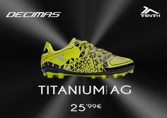 Descubre las nuevas #TitaniumAG Junior de DECIMAS ! http://ow.ly/T9JiQ