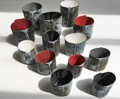 Favela Vessels. Commission for The Roundhouse Gallery, Derbyshire.