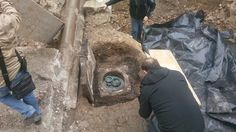 Roman graves unearthed in Slovenia capital.  On 25 March archaeologists working on the Slovenska Street in the centre of Ljubljana came across an extraordinary find. They unearthed three unspoilt Roman graves belonging to the inhabitants of Emona from 2,000 years ago, as the graves were dated to the early 1st century. Objects found in the Roman era graves excavated in the centre of Ljubljana  [Credit: MGML archives]
