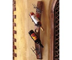 Barrel Stave Tilt Wine Rack