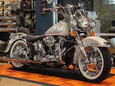 1994 SOFTAIL® DELUXE - Harley Davidson of Greenville.Brought to you by House of Insurance in call for a free price comparison Harley Davidson Scrambler, Harley Softail, Used Harley Davidson, Harley Davidson Motorcycles, Moto Bike, Motorcycle Wheels, Motorcycle Tips, Hummer, Cool Motorcycles