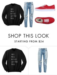 """""""Untitled #254"""" by livi-769 on Polyvore featuring Levi's and Vans"""