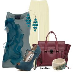 Blue Plum, created by leebee11 on Polyvore