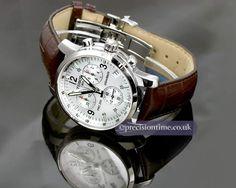 Tissot PRC200 T-Sport Chronograph Gents Watch: http://us.tissotshop.com/men/tissot-prc200-men-s-silver-quartz-chronograph-stainless-steel-watch.html #ownthis