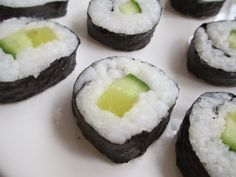 Strangeness and Charms: FOOD LOVE: handmade nigiri and maki sushi with tuna, salmon, cucumber and pickled radish.