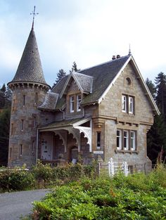 "Gate House - Ardverikie House ""Glenbogle Castle"" in Loch Laggan, Scotland, UK"