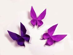 How to make a paper Butterfly? - YouTube