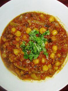 צ'אנה מסלה אוכל הודי טבעוני