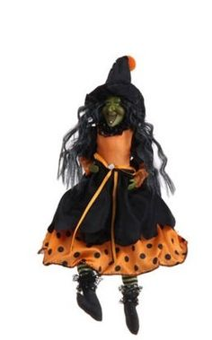 "Halloween - 15"" Witch Ornaments (Black) PerfectlyFestive http://www.amazon.com/dp/B00MVNH8H2/ref=cm_sw_r_pi_dp_jaoXvb1ZNBSVM"