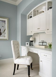 Image detail for -Home Office Built In Desk Design, Pictures, Remodel, Decor and Ideas
