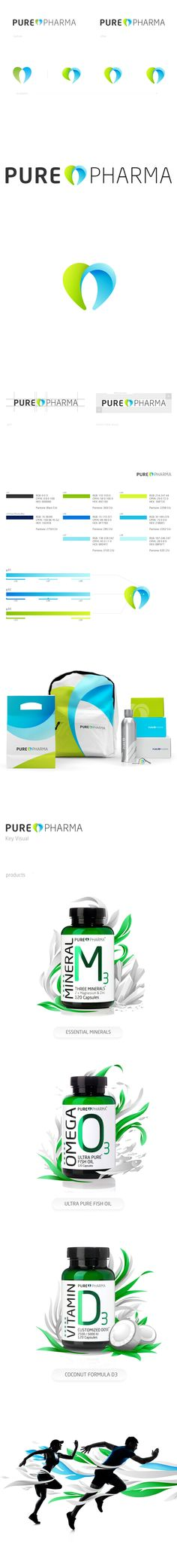 PurePharma by Fuse Collective , via Behance