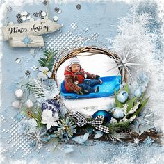 *Winter skating * by VanillaM Designs  http://wilma4ever.com/index.php…