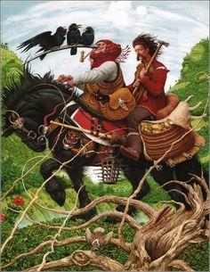 Ukrainian folk tales. Illustrations Vladislav Erko. ISBN 978-966-7047-27-6.