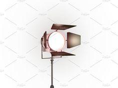 TV Studio Lamp Zoom by MS design Studio Lamp, 3d Studio, Creative Studio, Alpha Channel, Photo Art, Ms, Oriental, Wall Lights, Design