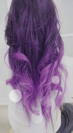 Purple and lavender ombre extensions (use code 'saravp' for $10 off.) #hair #purplehair