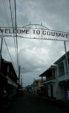 Gouyave, Grenada - home of 'Fish Friday' and the Homestead bar and grill - Also home of my husband