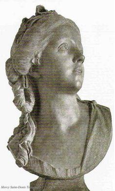 Presumed bust of Madame de Polignac.