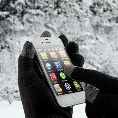 Gyerek méretben, fekete színben kapható. Kényelmes megoldás arra, hogy télen ne kelljen a kesztyűt levéve fagyos újjal nyomkodni a mobiltelefonunk érintőképernyőjét. Minden típusú érintőképernyővel... Minden, Smart Watch, Gifts, Smartwatch, Presents, Favors, Gift