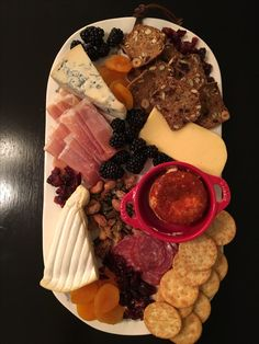 Our cheese board!