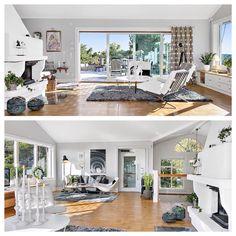 Homestyling wonderful house in west gotenburg, living room,