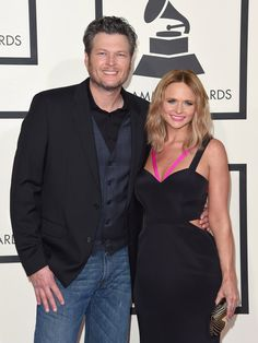 Pin for Later: Retour Sur les 31 Couples Qu'on a Perdu en 2015 Miranda Lambert et Blake Shelton