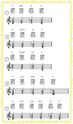 Strong Chord Progressions