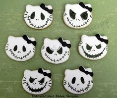 Nightmare before christmas edible cupcake toppers by Taleenshop ...