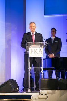 Tony Blair at the FRA Awards 2015 Tony Blair, Awards