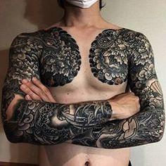Japanese tattoo sleeves by horiharu tattoo Asian Tattoo Sleeve, Japanese Sleeve Tattoos, Tattoo Sleeves, Torso Tattoos, Irezumi Tattoos, Body Art Tattoos, Asian Tattoos, Trendy Tattoos, Cool Tattoos
