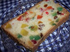 Gumdrop Cake from 1946 - sounds much better than fruit cake!  I love gum drops