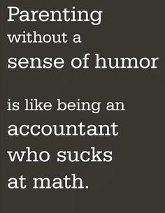 Humor is erg belangrijk in de opvoeding, onderschat niet de kracht ervan! www.opeenrijtje.com