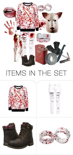 """Homicide Tonight.."" by shelbybauer ❤ liked on Polyvore featuring art"