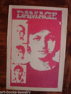 DAMAGE - BY THE PUBLISHERS OF DAMAGE MAGAZINE - POSTER- FLYER