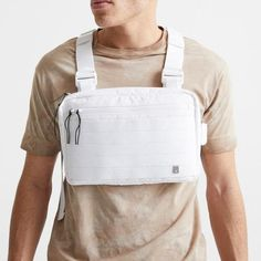 New Streetwear Chest Bag For Men Hip-Hop Vest Chest Rig Bags Fashion Tactical Strap Bag Male Square Vest Pack Kanye Nylons, Fitness Supplies, Hip Hop, Male Chest, Chest Rig, Waist Pack, Unisex, Fashion Accessories, Street Wear