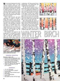 New painting ideas trees art lessons ideas – Kunstunterricht