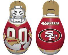 San Francisco 49ers Tackle Buddy Punching Bag Z157-2324595705