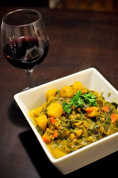 Veggie-filled curry