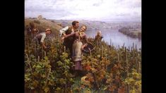Daniel Ridgway Knight March 1839 – 9 March was an American artist born in Chambersburg, Pennsylvania. Knight was a pupil at the École des Beaux-A. Louis Aston Knight, Legion Of Honour, American Artists, Music Artists, Oil On Canvas, Landscape, Gallery, Scenery, Roof Rack