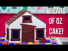 Wizard Of Oz Cake! Auntie Em's House in Over The Rainbow Coloured Vani – HOW TO…