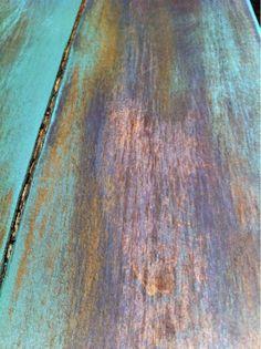 Dry Brush Painting Technique - Simple Wooden Sign | The Quaint Cottage
