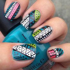 Chickettes.com #nail #nails #nailart
