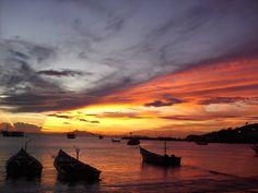 Sunset in Juan Griego, Margarita