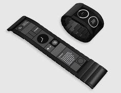Wove Smartwatch's Flexible Display Bends Around Your Wrist - NBC News